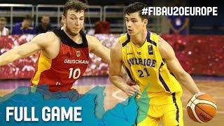 Sweden v Germany - Full Game - FIBA U20 European Championship 2017