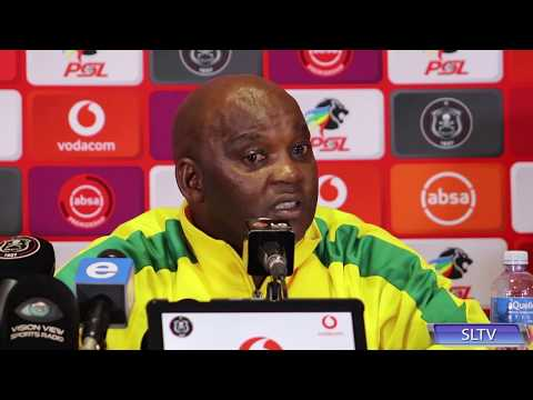 Pitso Mosimane On Whether He Is Happy With A Point Against Orlando Pirates