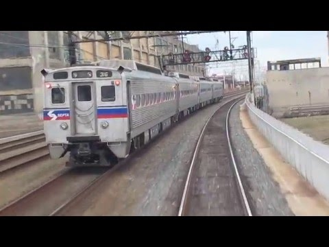 SEPTA SL-IV #316 - Reading Viaduct Race