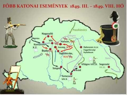 Az 1848 49 Es Forradalom Es Szabadsagharc Fontosabb Esemenyei