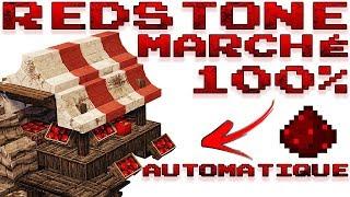 [Tutoriel Redstone] Créer une échoppe | Boutique | Marché | Automatisé qui trie et rembourse.