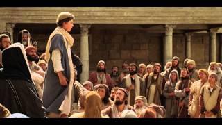 マリヤとヨセフはイエスが神殿の中で御父の業に携わっているところを見る。