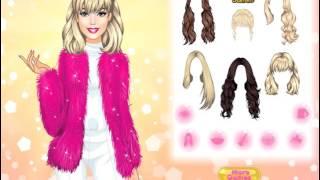 Мультик игра Одевалка: Сияющая Барби (Brilliant Barbie)