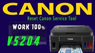 Canon ST5204 Canon Service Tool V5204 Original last version 2018