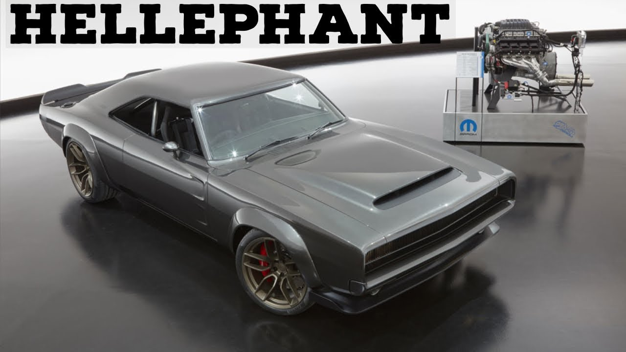 Hellephant 1000 Horsepower 426 Crate Hemi Engine And Dodge