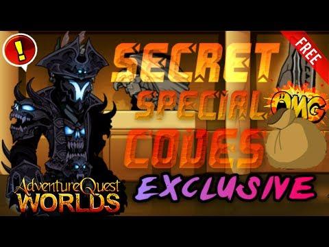 =AQW= ALL *FREE* Secret Super Special CODES!! [EXCLUSIVE!] (AQW AdventureQuest Worlds 2016-2017)