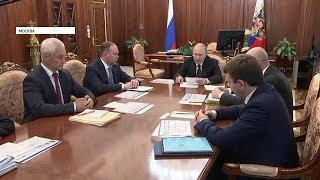 Путин отметил позитивные тенденции в экономике России
