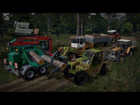 Gospodarstwo Rolne #6 ☆ Farming Simulator 15 Multiplayer - Slovakia Map ☆ Akcja drwaaal!