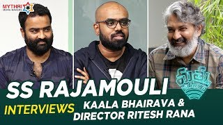 Telugutimes.net SS Rajamouli Interviews Kaala Bhairava & Director Ritesh Rana