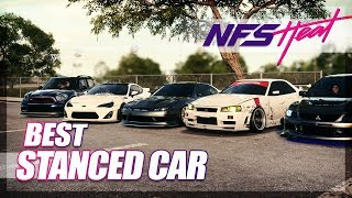 Need For Speed Heat - Best Stanced Car Challenge!