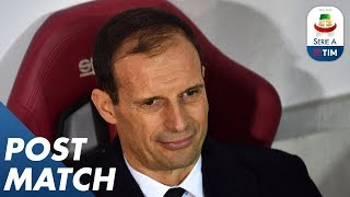 Torino 0-1 Juventus | Allegri Post Match Press Conference | Serie A