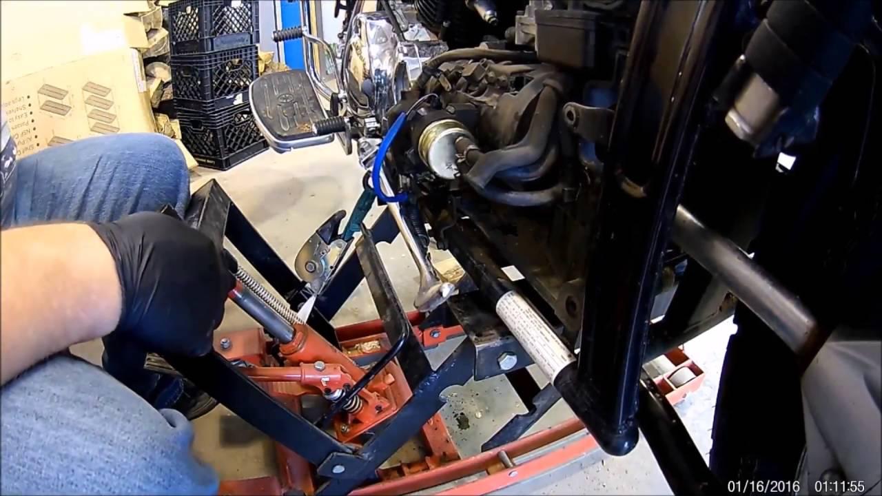 Yamaha VStar 1100 new fuel pump  YouTube