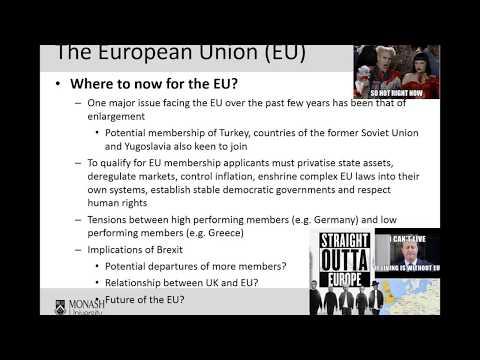 Week 8- The European Union