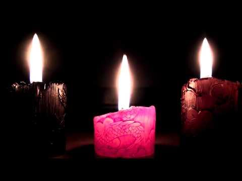 FULL HD mum ışığı,dinlendirici ve romantik müzik,relax music,1 saat