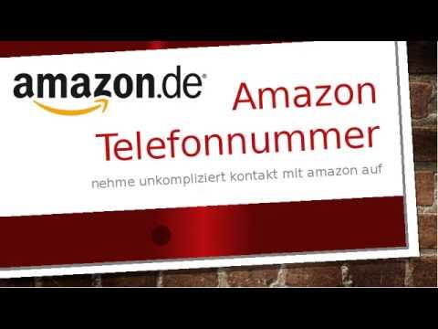 Telefonnummer Amazon Deutschland