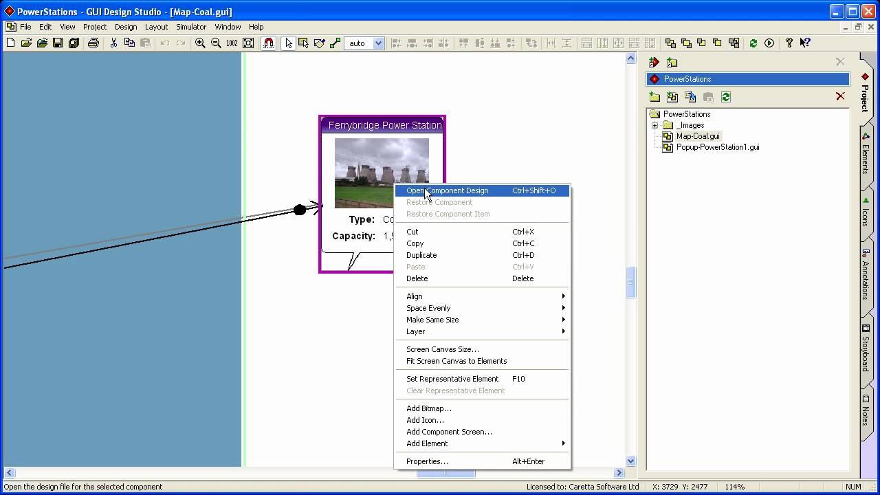 GUI Design Studio - How to Create Scrolling Regions