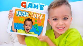 Vlad and Niki 12 Locks - new game for kids