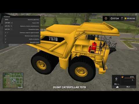 БЕЛАЗ VS ПОЕЗД что будет? - в игре Farming simulator 17