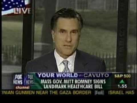 Neil Cavuto discusses Mass. Health Care Law with Mitt Romney