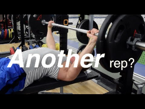 Almost Died Bench Pressing