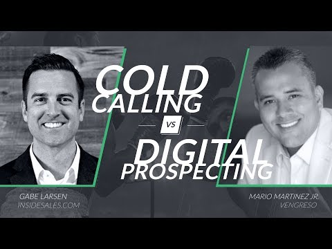 Webinar // Cold Calling vs Digital Prospecting
