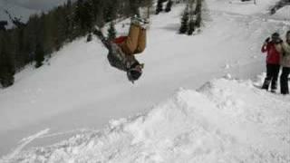 Extreme Freestyle Sledding (Double Backflip)