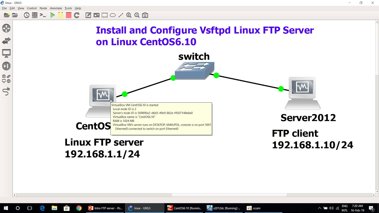 Linux-Install and Configure Vsftpd linux ftp server speak in English by  Lecturer KIM NO @RUPP