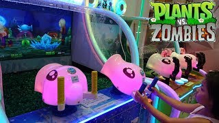 Must See! Plants VS Zombies PVZ Arcade Video Games Awesome Water and Pea Shooting Actions thumbnail