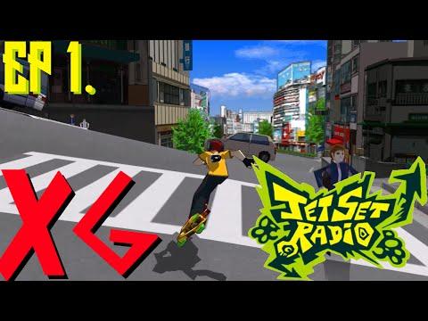 "Jet Set Radio || Episode 1 ""Sega Games have the Best Tutorials"" |"