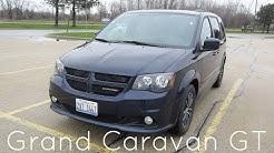 2017 Dodge Grand Caravan GT Minivan   Full rental car review and test drive