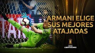 Franco Armani elige sus MEJORES ATAJADAS | CONMEBOL Libertadores