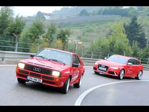 Audi RS 6 Avant vs. Audi Sport quattro - Video
