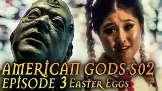 """American Gods Season 2 Episode 3 Breakdown + Easter Eggs """"Muninn"""""""