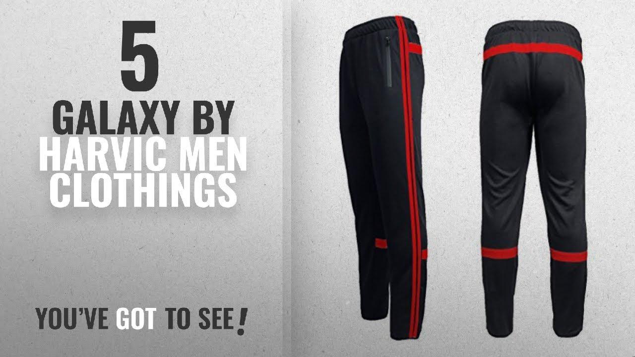 283693a1bc6554 Galaxy by Harvic Mens Athletic Soccer Training Sweat Track Pants  MENS_TRACK_PANTS Clothing