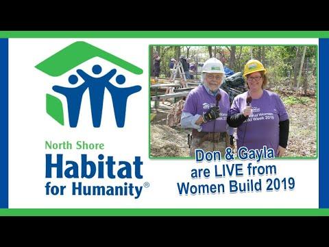 Habitat For Humanity North Shore - Women Build 2019