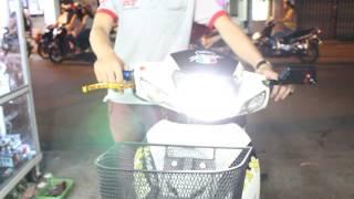 Đèn Led Pha xe máy siêu sáng ( Led Pha 6 Tim )