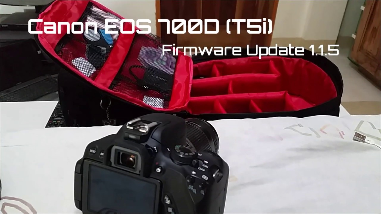 Canon EOS 700D (Rebel T5i) Firmware Update Version 1 1 5