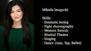 Mikaila Imaguchi Action Demo Reel 2021