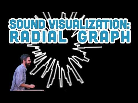 17.10: Sound Visualization: Radial Graph - p5.js Sound Tutorial