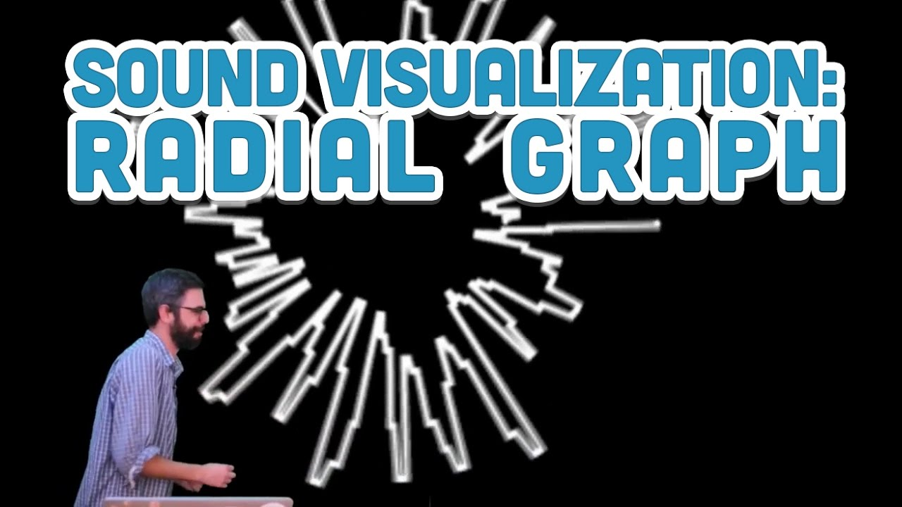 17 10: Sound Visualization: Radial Graph - p5 js Sound Tutorial