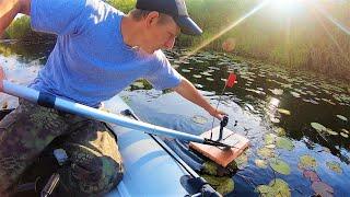 ЩУКА ЛОВИЛАСЬ САМА ПОКА МЫ ЖАРИЛИ ШАШЛЫК Рыбалка на жерлицы летом 2020