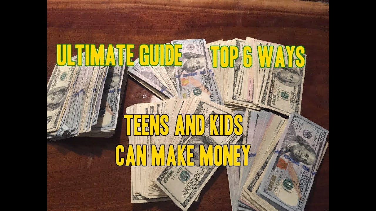Good ways for tweens to make money