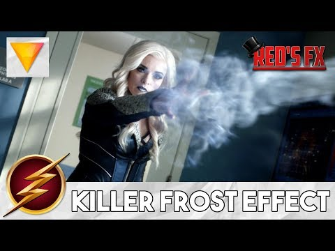 Killer Frost Ice Effect Hitfilm Express Tutorial | Red's Fx