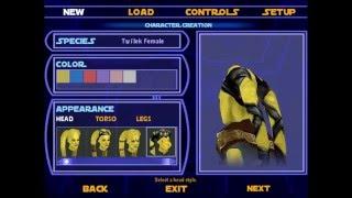 Star Wars Jedi Knight Jedi Academy Part 1: Character Creation