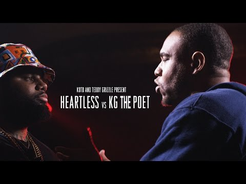 KOTD - Rap Battle - Heartless vs KG The Poet