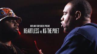 KOTD - Rap Battle - Heartless vs KG The Poet