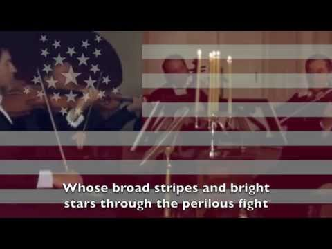Star Spangled Banner to the tune 'Heart of Oak'
