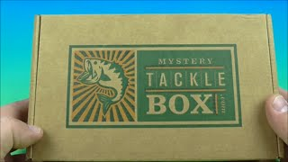 FEBRUARY 2016 MYSTERY TACKLE BOX OPENING UNBOXING VIDEO REVIEW