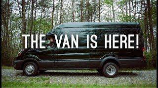 Cover images Our Van is Here!   Full Time Travelers Stuck In Quarantine