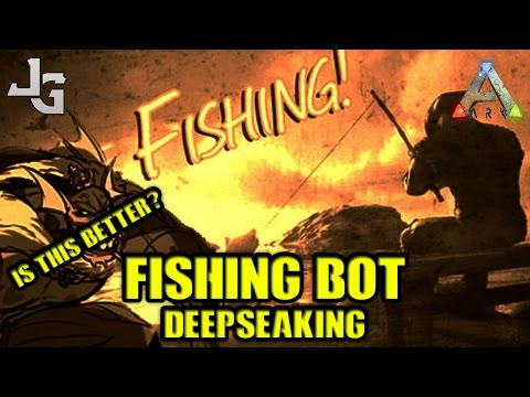 ARK - Testing New Fishing Bot - Is this better than the Fishing